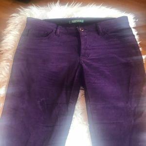 Lauren Ralph Lauren velour pants